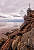 BAY OF FUNDY OUTCROP by Bruce Barton