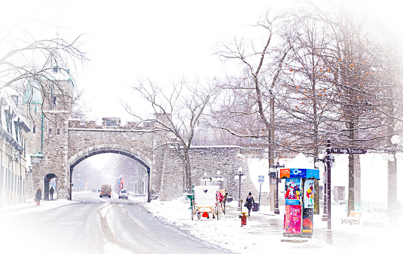 """Winter in Old Quebec City""  by Carolyn Francis-Scobie"