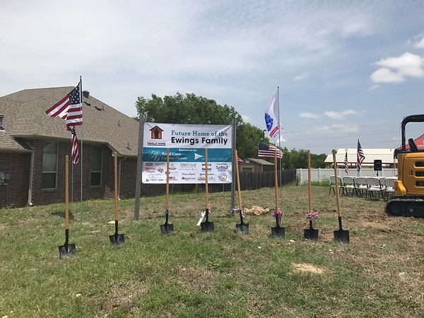 Operation Finally Home Groundbreaking - 07/02/17