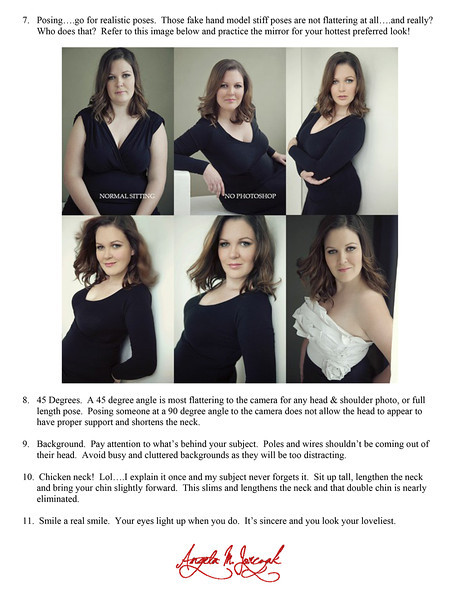 Over 40 Females - Posing Tips-2