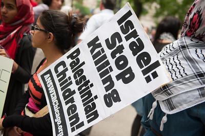 Palestine protest 7 5 14-7437