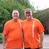 SMM Board Members, Ron & Ron, serving at the Fall Festival