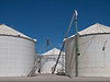 Several of many silos for rice.  100811_2994