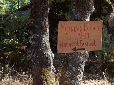 Mountain Bounty Farm harvest festival, Sept. 18, 2010