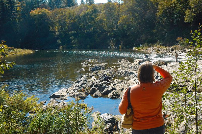 Quechee VT - Quechee Gorge Trail - Trail's End
