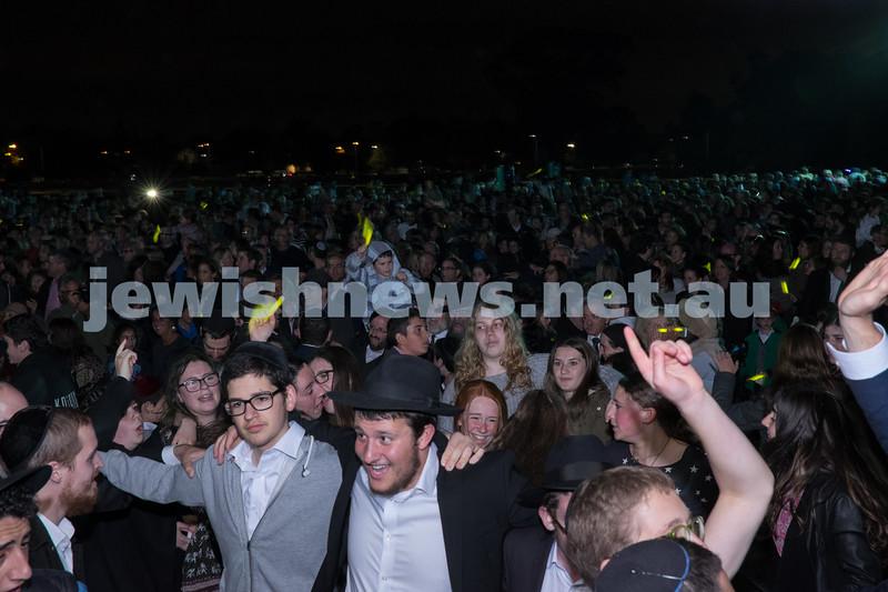 October 25, 2014 - communal Havdalah celebrations at Caulfield Park, Melbourne.