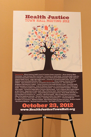Health Justice Town Hall 10/23/12