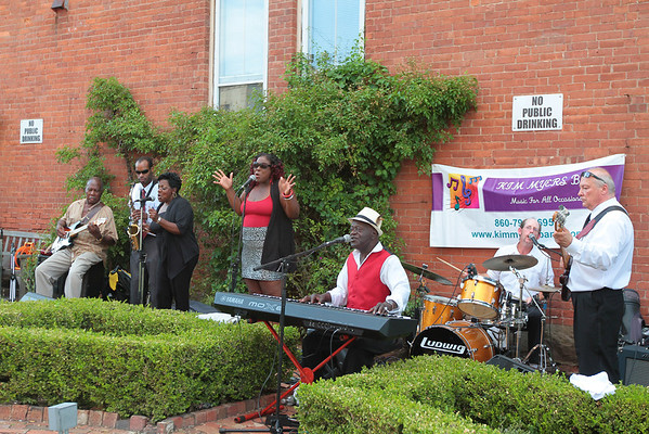 Kim Myers Band - Summer Concert Series (Community Health Center) 7/5/12