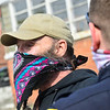 KRISTOPHER RADDER — BRATTLEBORO REFORMER<br /> Brattleboro Police Officers Ryan Washburn and Colby Kerylow walk around Brattleboro, Vt., to check on how people are doing on Wednesday, May 6, 2020.