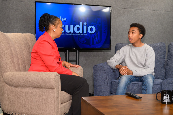 """We had the pleasure of meeting Asante Blackk, North Point High grad and Emmy-nominated for his role in """"When They See Us,"""" and his family. Keep up the good work Asante!"""