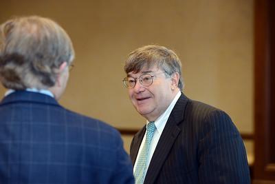 Charlie Cook speaks at Belmont University