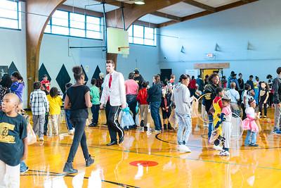 Rose Park Halloween Community Center Event 2015
