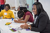 Techbridge Girls STEM learning experience led by Leidos employees on November 21, 2017 in the Leidos Conference Center in Reston, VA. Photos can only be used for editorial purposes.