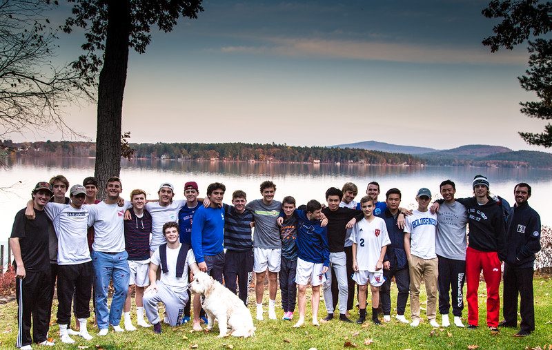 Following a 10-2 win over the Brewster JV soccer team, the boys enjoyed a dinner at the home of Kathy and David Ilsley in Wolfeboro, NH!