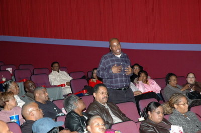 """Color of the Cross"" movie premier."