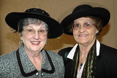"""Crowns """"Tea & Hats"""" plus Hat Fashion Show April 2007"""