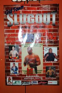 Oldtown Slugout Boxing May 17, 2007