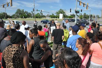Trayvon Martin Rally July 15, 2013