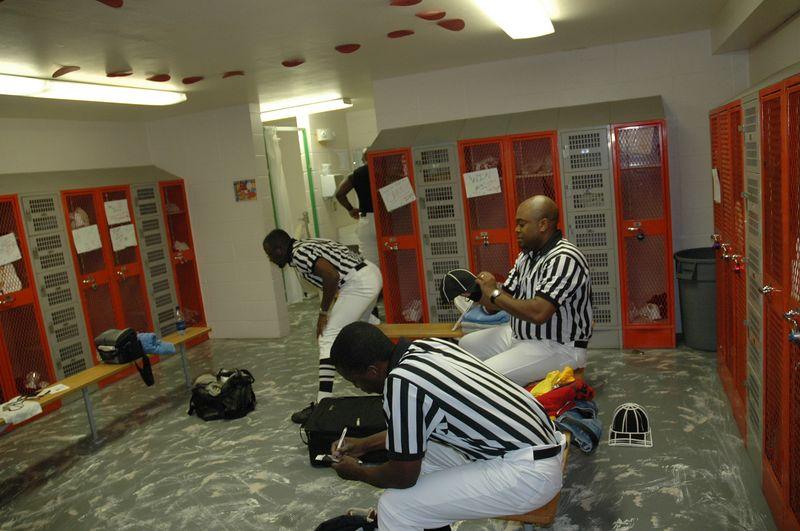 Pre game at Dexter