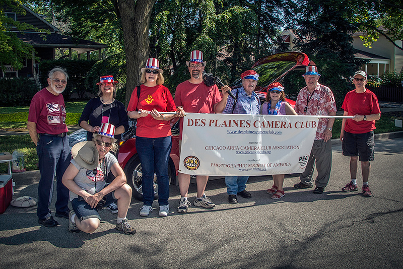 Marchers DPCC 4th of July 2018