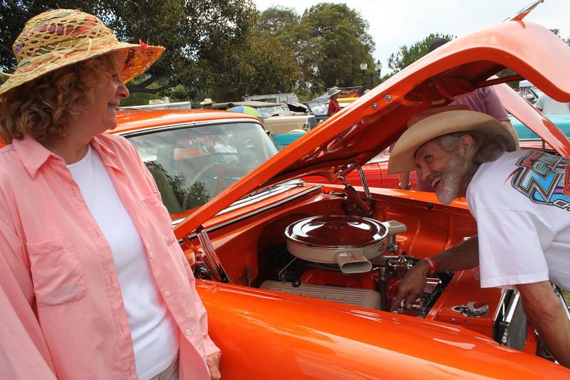 Karen Bates and DuWayne Weatherman of Ventura.