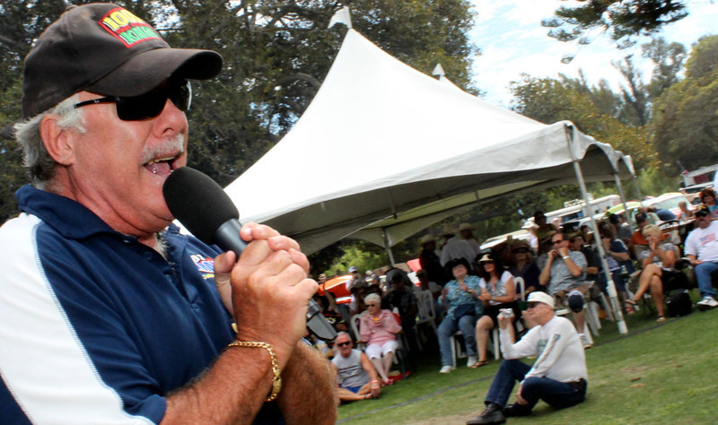 "Helping to put the ""K"" into Country, KHAY 100.7 Radio  morning man Dave Bradley kept the Chili crowd happy, his radio audience in the groove, and Ventura Vintage Hot Rod lovers humming in overdrive all afternoon."