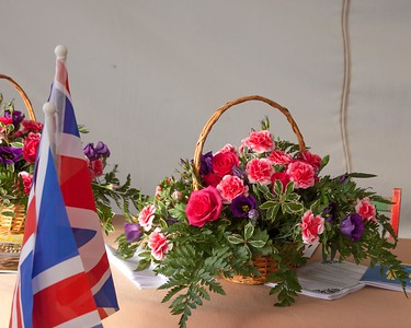 Aylsham Flower Club Display