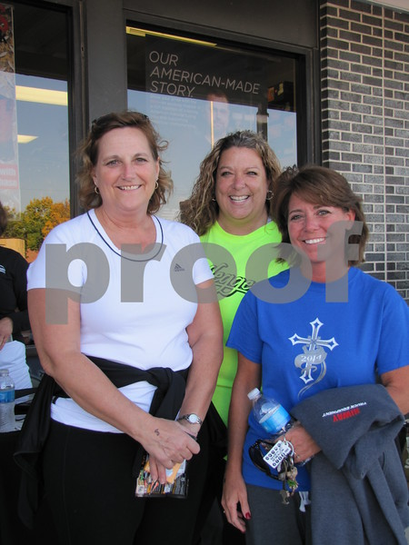 Mel Patterson, Cara Ford, and Carrie Kee