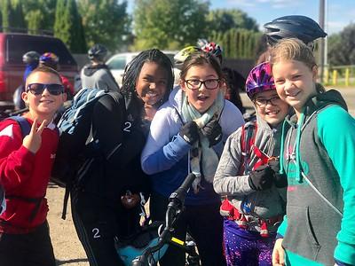 MS 6th Grade Bike Ride 9-22-17
