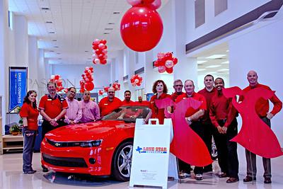 American Heart Association (AHA) Go Red Sponsorship Organization