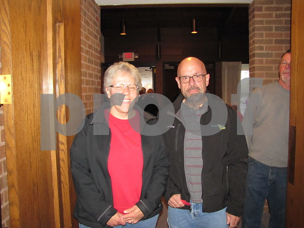 Bana and Daryl Starrett attended the soup supper.