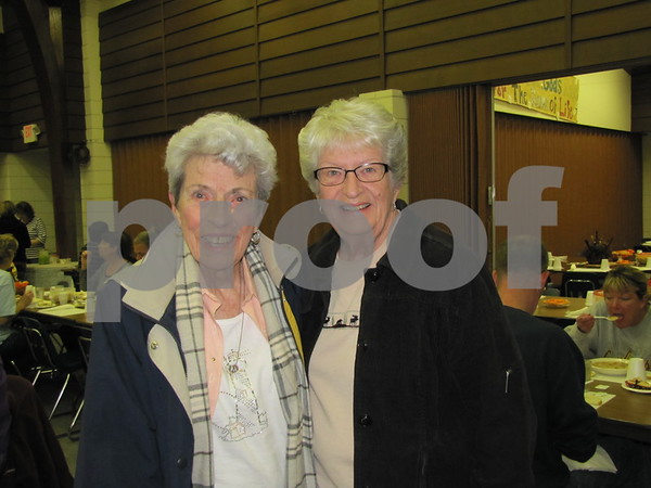 Doris Trainer and her daughter, Sondra Thorson attended the annual soup supper.