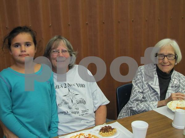 Natalya and Karla Skaggs, and Diane Breenburch