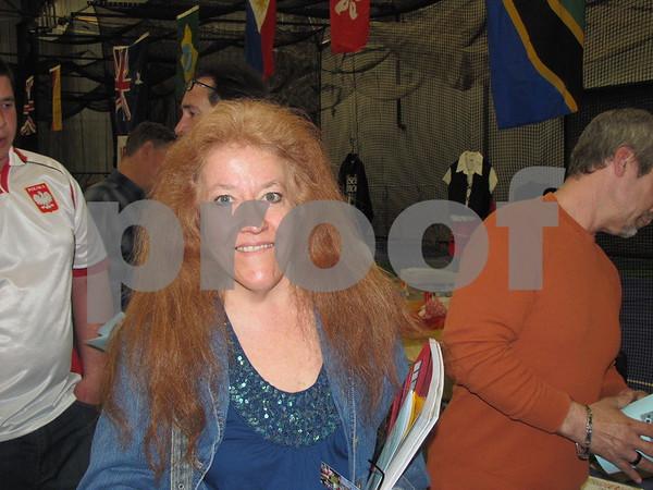 Loretta Gray atttended the Festival of Nations.