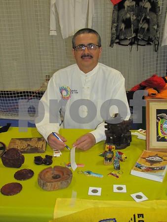 Antonio Roa of Ecuador represented his homeland at Festival of Nations.