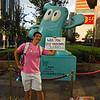 VDL-JLiu and 2010 Shanghai World Expo Mascot Haibao