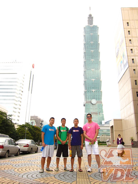 VDL-VNgo KWu KWong JLiu at Taipei 101