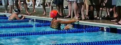 Lauren Marsden Backstroke start