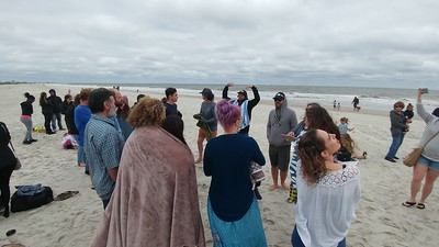 Beaches Vineyard, beach baptisms April 8, 2018