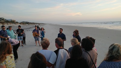 Beaches Vineyard Easter sunrise service, 2017