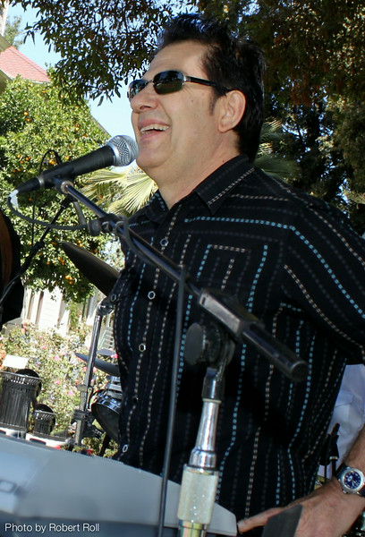 Tim Buley welcomes guests to the third annual Camarillo Country Music Festival and Chili Cookoff.
