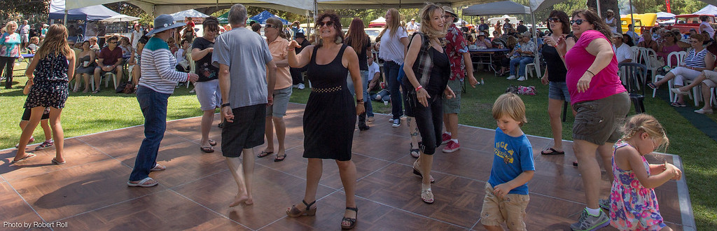 Festival guests who are old enough to have danced to the Beach Boys themselves shared the dance floor with a new generation.
