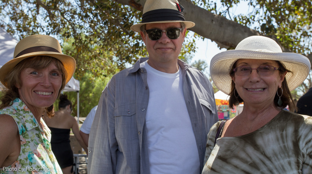 Karin and Lutz Lehmann with their friend Mary Labbett may have traveled the farthest to attend the 2014 Camarillo Chili Cook-Off this year.  Although they are all now California residents, the Lehmanns are originally from Germany, and Ms. Labbett was born in Great Britain.
