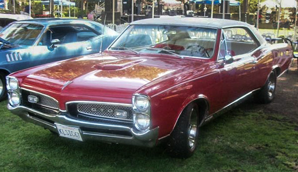 """This little GTO, born in 1967, arrived early onto the grounds of the Camarillo Ranch as part of the Classic Auto segment of the city's sixth annual chili Cook-Off and Music Festival.  Photo courtesy of Steve """"Ughlee"""" Austin"""