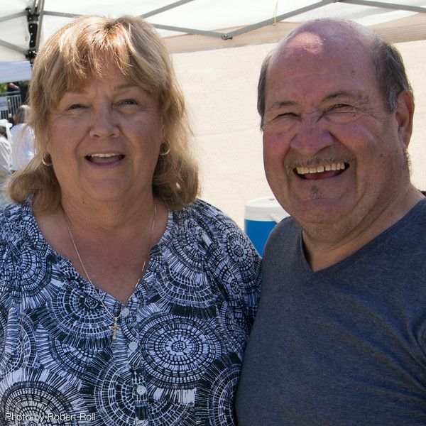 """Patricia and Armando Sanchez of Westminster returned for the sixth year as the """"Chili Knight and Lady Trish""""."""