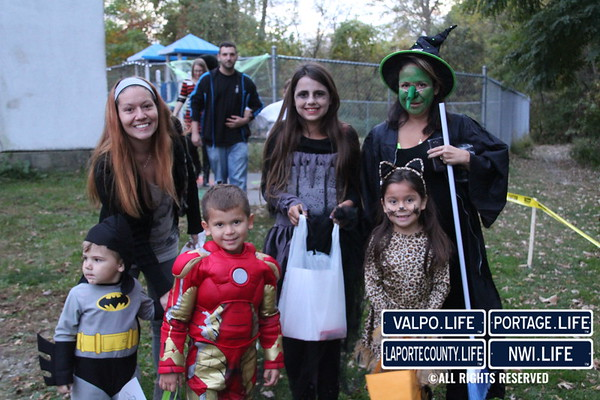 2015 Portage YMCA Trick or Treat Walk