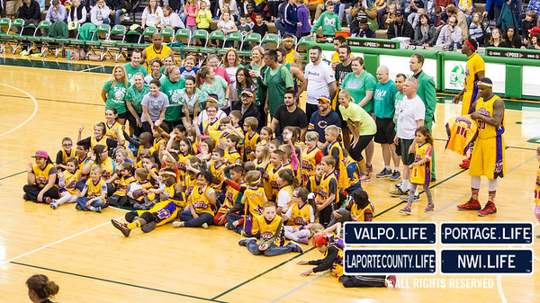 2016 Harlem Wizards Basketball Game and Valpo Schools Fundraiser