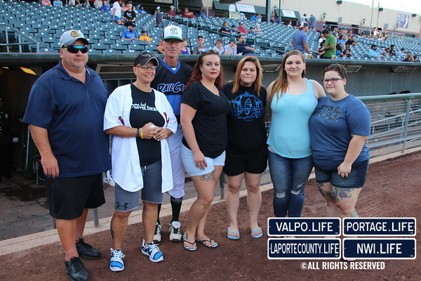 Gary Railcats 'Blue Line Night' 2017