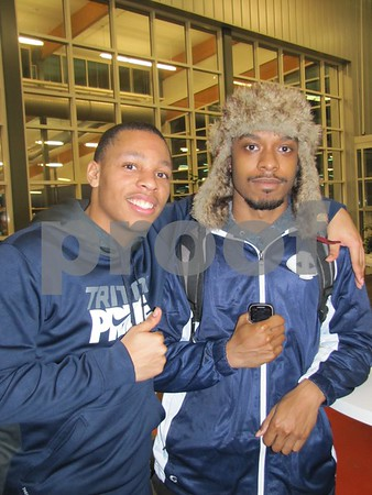 Jerome Jenkins and Brandon Thedford attended Bingo night at ICCC