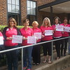 Staff in Admin Building #200 wore pink for their loved ones.